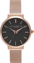 Olivia Burton OB15TH08 The Hackney rose gold-plated mesh watch
