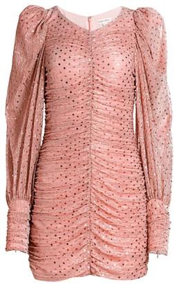 For Love & Lemons La Villette Ruched Dress