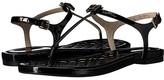 Cole Haan Tali Mini Bow Sandal (Black Patent) Women's Sandals