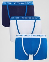French Connection 3 Pack Boxers
