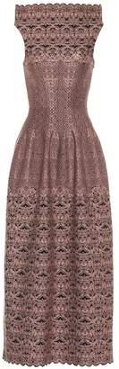 Alaia Jacquard knit dress