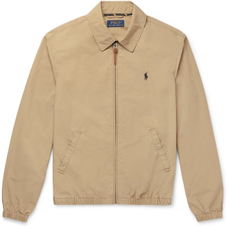 Polo Ralph Lauren Cotton Harrington Jacket - Men - Brown