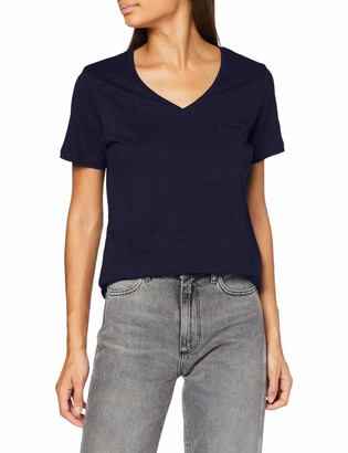 Superdry Women's Scripted V Neck Tee T-Shirt