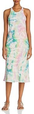 Amanda Uprichard Pasadena Tie-Dyed Midi Dress