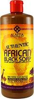 YLANG YLANG Alaffia - Authentic African Black Soap, Lavender Ylang Ylang, 32 Ounces