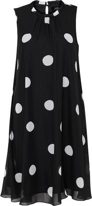 Wallis Black Polka Dot Swing Dress