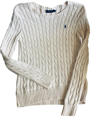 Polo Ralph Lauren Ecru Cotton Knitwear for Women