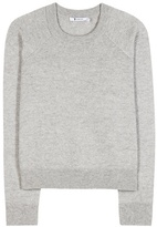 Alexander Wang Wool and cashmere cropped sweater