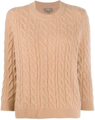 N.Peal boxy round neck jumper