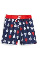 Little Me Sailboat Swim Trunks (Baby Boys)