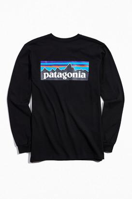Patagonia P-6 Long Sleeve Logo Tee