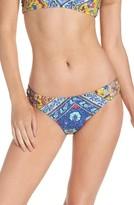Nanette Lepore Women's Woodstock Charmer Bikini Bottoms
