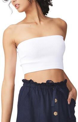 Cotton On Samantha Seam Free Rib Tube Top