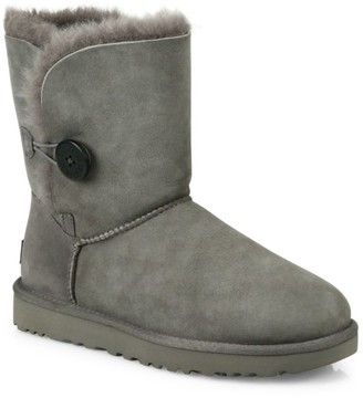 Bailey Button II Sheepskin-Lined Suede Boots