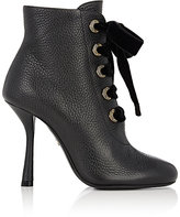 Lanvin Women's Lace-Up Ankle Boots-BLACK