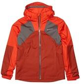 Columbia Kids Rain Scapetm Jacket (Little Kids/Big Kids) (Wildfire/Carnelian Red/City Grey) Boy's Clothing