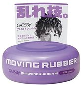 Gatsby Moving Rubber Wild Shake 80g/2.8oz (One Pack)