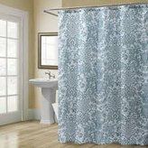 "Croscill Shower Curtain Medici Cotton Ocean Blue 70"" x 72"""