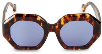 Colors In Optics Maraias Geometric 50MM Sunglasses