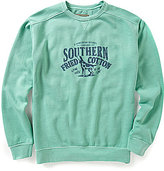 Southern Fried Cotton Men's Howlin South of the Line Crew Neck Fleece Pullover
