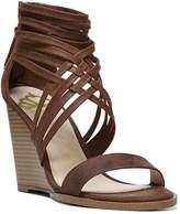 Fergalicious Women's Hunter Wedge Sandal -Taupe
