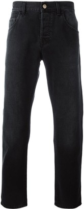 Gucci Tapered Jeans With Panther