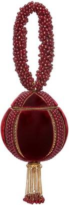 MAE CASSIDY Babi Gemstone Strengthening Red Onyx Bracelet Clutch Bag