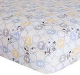 Lambs & Ivy Peanuts My Little Snoopy Crib Sheet by