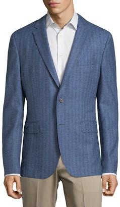 HUGO BOSS Herringbone Wool Jacket