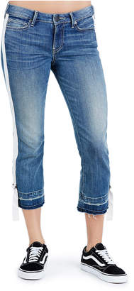 True Religion STARR CROP STRAIGHT WOMENS JEAN