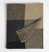Rejuvenation Herringbone Wool Throw