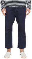 Vince Drop-Rise Cropped Drawstring Pants Men's Casual Pants