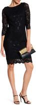 Marina Scalloped Lace Dress