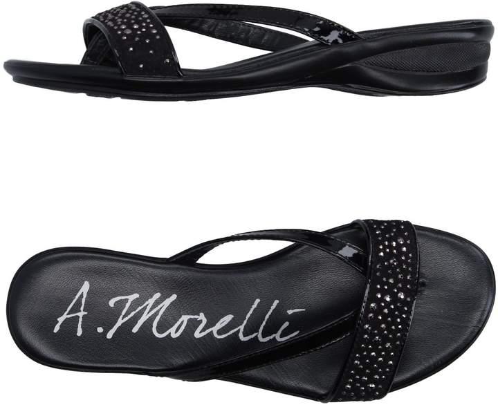 Andrea Morelli Toe strap sandals - Item 11184428