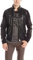 Diesel Men's L-Madara Leather Jacket