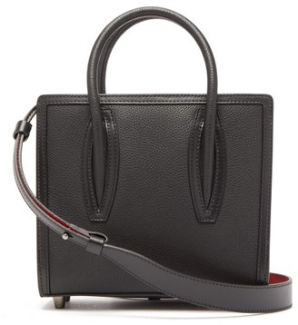 Christian Louboutin Paloma Bi-colour Leather Shoulder Bag - Black Multi