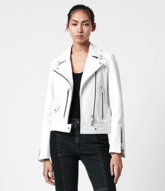 AllSaints Suki Leather Biker Jacket