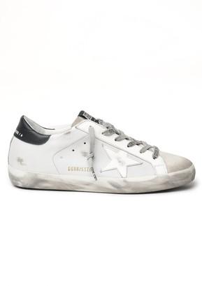 Golden Goose Superstar Sneaker in Ice/Light Grey/White/Black