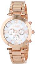 August Steiner Women's AS8049RG Step Dial Multi-Function Bracelet Watch