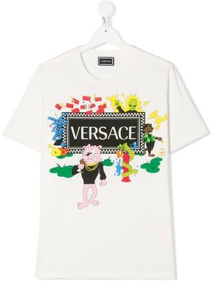 Versace Cartoon Vintage Logo T-shirt