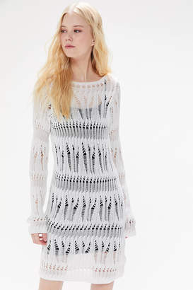 Urban Outfitters Juniper Distressed Sweater Dress