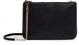 Sandro Small Leather Cross Body Bag