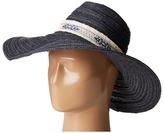San Diego Hat Company PBL3076 Floppy Hat with Jacquard Canvas Trim