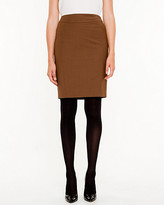 Le Château Wool Pencil Skirt