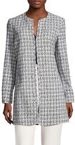 Karl Lagerfeld Tweed Topper Jacket