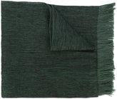 Issey Miyake fringed scarf - men - Silk/Cotton/Cupro - One Size