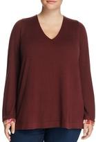 NYDJ Plus Layered-Look Sweater