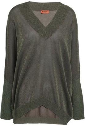 Missoni Metallic Stretch-knit Sweater