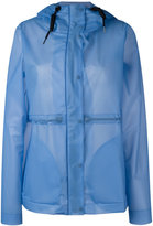 Hunter hooded raincoat - women - Polyurethane - S