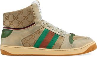 Gucci Men's Screener GG high-top sneaker